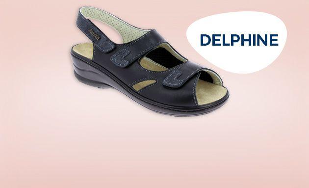 Chaussure orthopédique Delphine